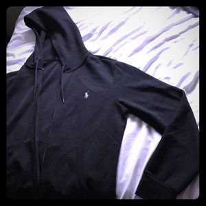 POLO lightweight zip up hoodie